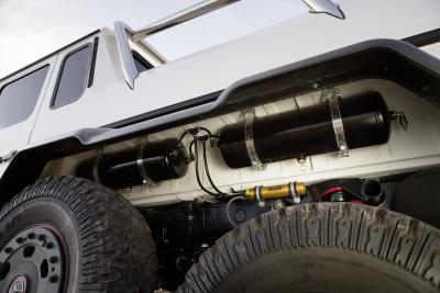Mercedes-Benz G 63 AMG 6x6 Fahrwerk