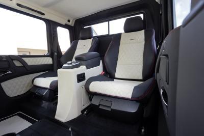 Mercedes-Benz G 63 AMG 6x6 Sitze