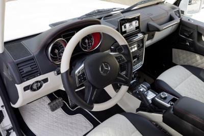 Mercedes-Benz G 63 AMG 6x6 Innenraum