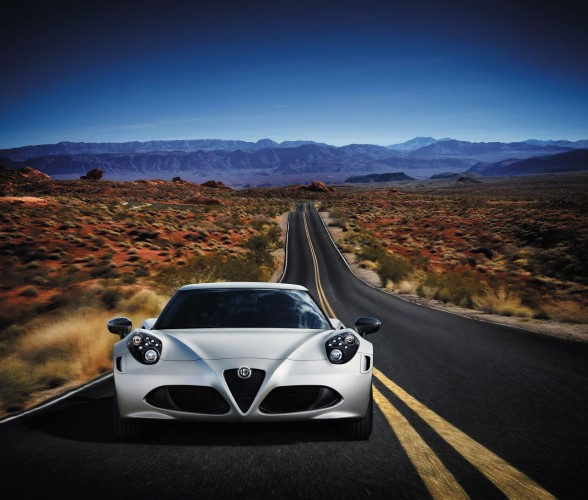 Vorstellung Alfa Romeo 4C Launch Edition