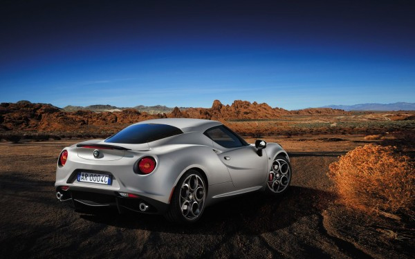 Alfa Romeo 4C Launch Edition Heck
