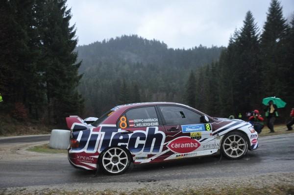 Beppo Harrach Mitsubishi Rebenland Rallye