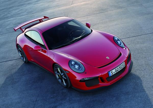 Porsche 911 GT3 oben