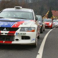 Rebenland Rallye 2013 Start Rally Car Auto Line up