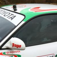 Rebenland Rallye 2013 Toyota Celica GoPro Kamera