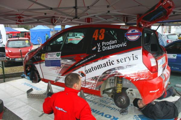 Rebenlandrallye 2013 Fahrerlager