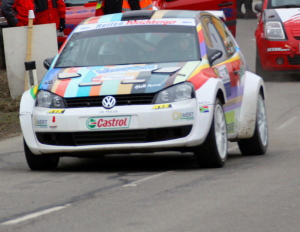 Rebenland Rallye Kris Rosenberger VW Polo