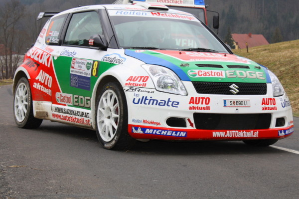 Rebenland Rallye Suzuki Swift Michael Böhm