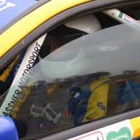 Rebenland Rallye 2013 Mitsubishi Lancer EVO Asja Zupanc Frau Fahrerin Pilotin