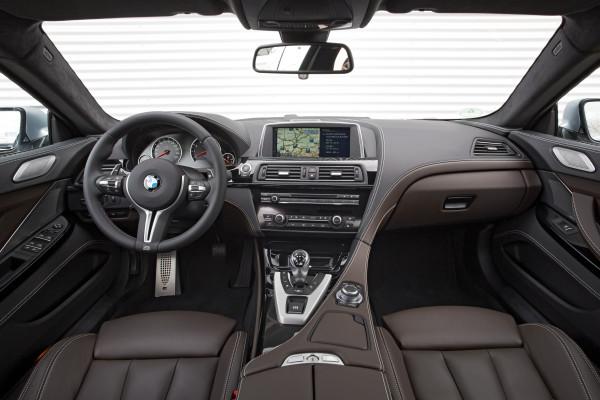 BMW M6 Gran Coupe Innenraum