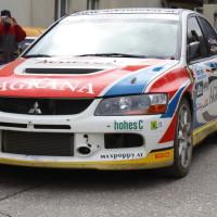 Lavanttal Rallye 2013 Gerwald Grössing Mitsubishi Lancer Evo IX R4