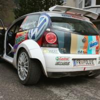 Lavanttal Rallye 2013 Kris Rosenberger VW Polo S2000