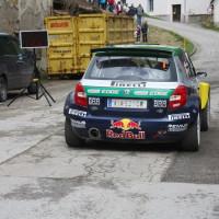 Lavanttal Rallye 2013 Baumschlager BRR Skoda Red Bull Start