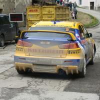 Lavanttal Rallye 2013 Hermann Gassner Motorsport Mitsubishi Lancer Evo