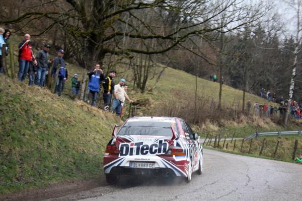 Lavanttal Rallye 2013 Beppo Harrach Mitsubishi Lancer Evo