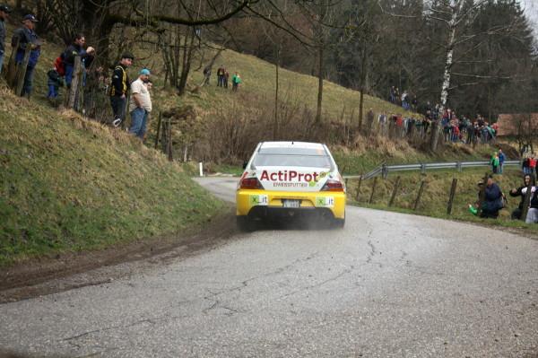 Lavanttal Rallye 2013 Grössing Mitsubishi Lancer Evo