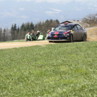 Lavanttal Rallye 2013 Hermann Gassner junior Mitsubishi Lancer Evo Red Bull Spielberg