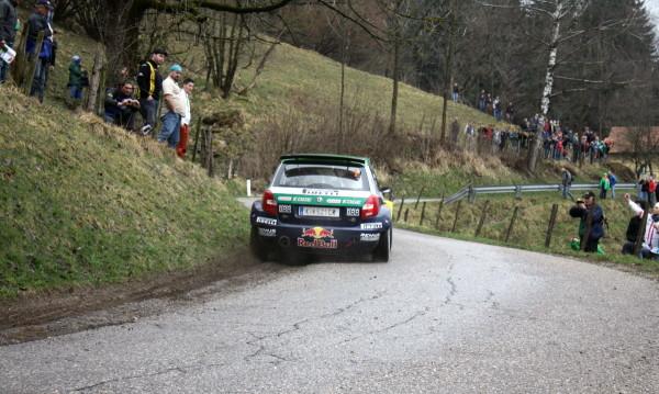 Lavanttal Rallye 2013 Baumschlager Skoda Fabia S2000