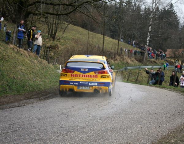Lavanttal Rallye 2013 Gassner Hermann sen Mitsubishi Evo X