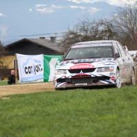 Lavanttal Rallye 2013 DiTech Mitsubishi Lancer Evo Harrach