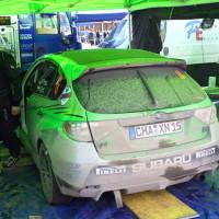 Lavanttal Rallye 2013 Service Zone