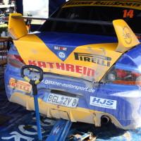 Lavanttal Rallye 2013 MItsubishi Lancer Evo Heckschaden Unfall Crash Asja Zupanc