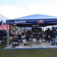 Lavanttal Rallye 2013 Service Park