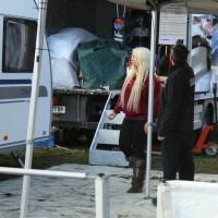 Lavanttal Rallye 2013 blonde Frau