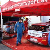 Lavanttal Rallye 2013 Citroen Jaga Motorsport Service Park Zone Zelt