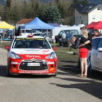 Lavanttal Rallye 2013 Citroen DS3 Service