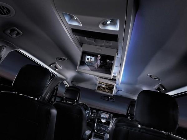 Lancia Voyager Innenraum Ausstattung
