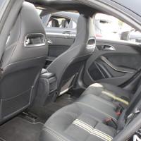 Mercedes-Benz CLA 250 Innenraum Rückbank