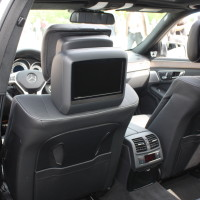Mercedes-Benz E-Klasse Neu Innenraum Rücksitz