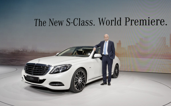 New Mercedes-Benz S-Class. World Premiere. Hamburg 2013