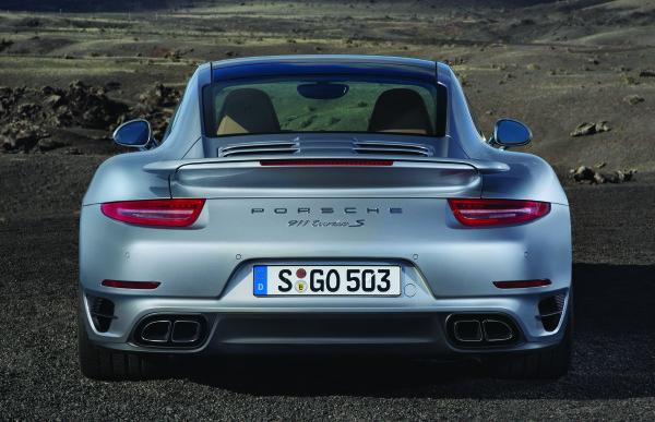 Porsche 911 Turbo S Heck