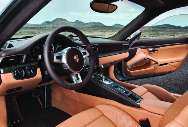 Porsche 911 Turbo S Innenraum