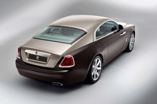 Rolls-Royce Wraith Heckansicht