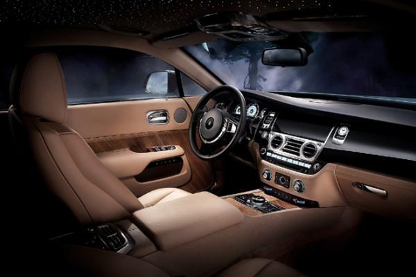 Rolls Royce Wraith Innenraum