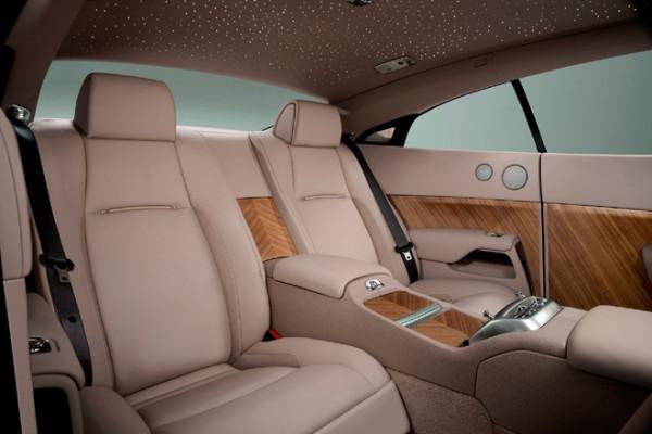 Rolls Royce Wraith Innenraum Rücksitze