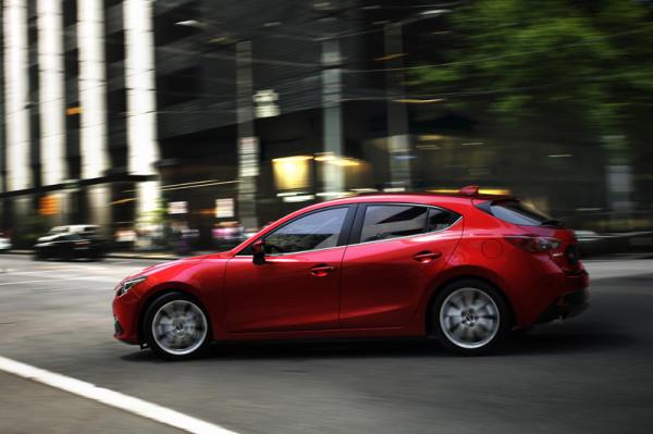 Mazda 3 Seite