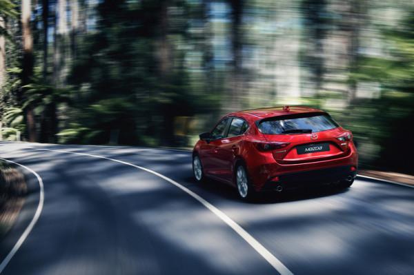 Mazda 3 Heck