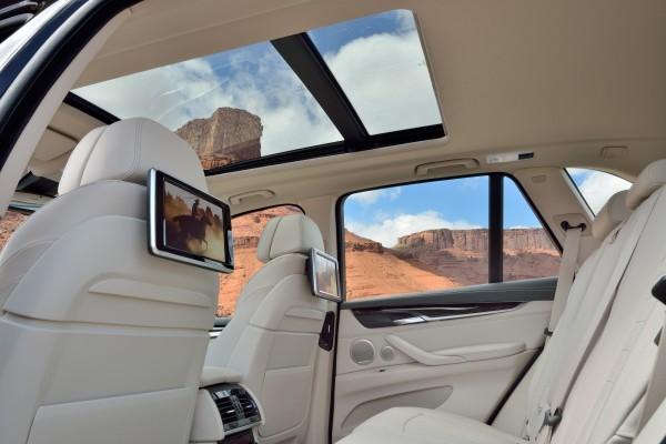 Neue BMW X5 Innenraum