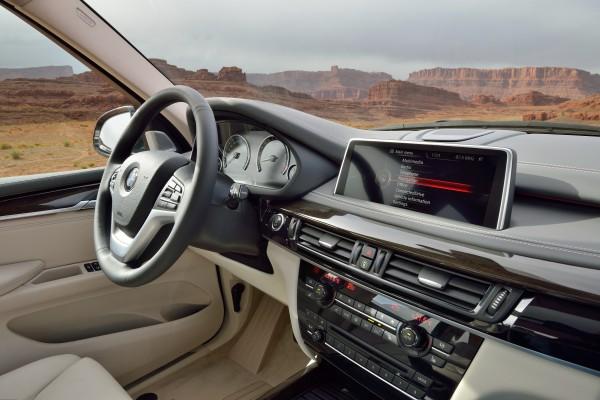 Neue BMW X5 Armaturen SUV