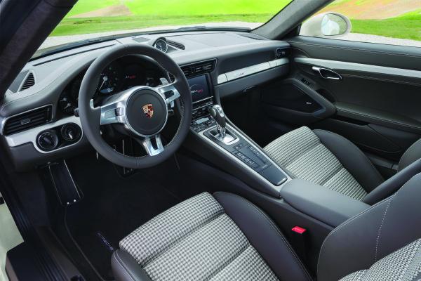 Porsche 911 limitierte Edition Innenraum