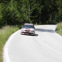 Schneebergland Rallye 2013 Beppo Harrach Mitsubishi Lancer EVO IX R4