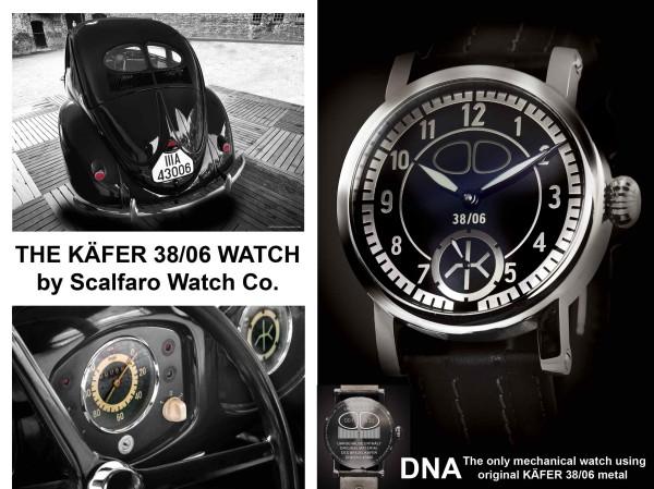 Kaefer 3806 Watch engineered by Scalfaro all