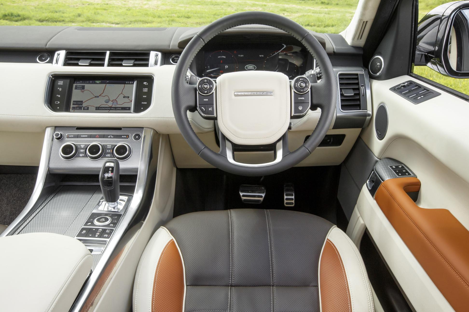 Range Rover Sport Can Convince Interior