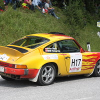 Schneebergland Rallye 2013 Porsche 911 SC Willi Polesznig