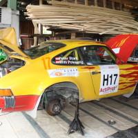 Schneebergland Rallye 2013 Porsche Service
