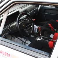 Schneebergland Rallye 2013 Volvo Innenraum